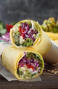 サラダラップ 春野菜